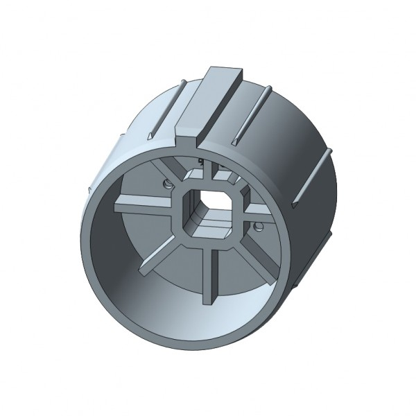 Siralwelle für mechanische Rohrmotore