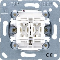 Einsatz Jung 509 VU - Jalousie-Wippschalter