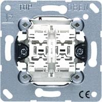 Einsatz Jung 535 U - Doppel-Wipptaster