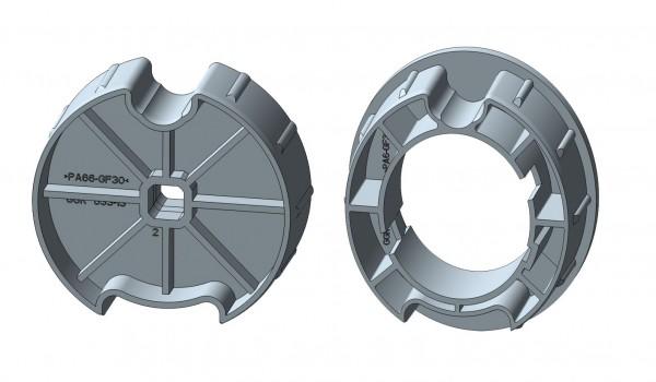 Nutrohr mit Flach-/Rund-/MHZ-Nut für mechanische Rohrmotore-Copy-Copy