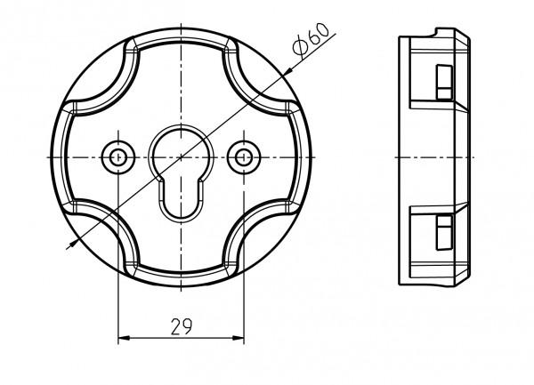 Adapter für Click-Antriebslager 94401500