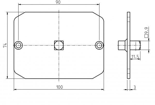 Adapter für Handkurbel 93401002